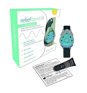 Reliefband Stops Motion Sickness, Sea Sickness and Morning Sickness Fast